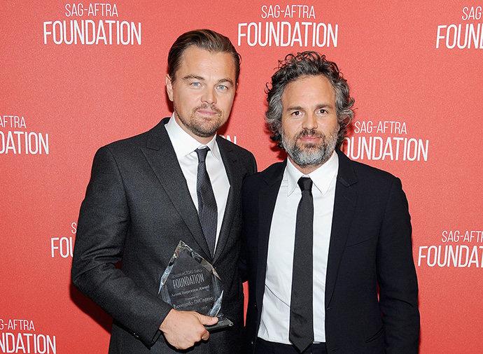 Leonardo DiCaprio and Mark Ruffalo SAG Awards